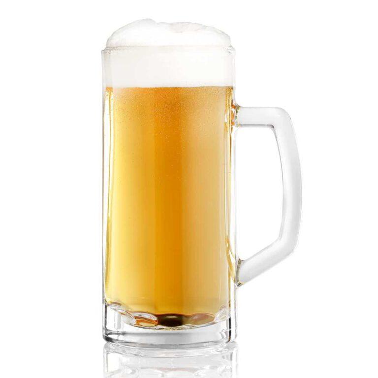 Bierfotografie Bierglas mit Schaumkrone