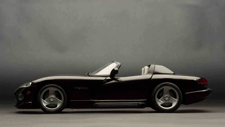 Bildbearbeitung Rohbild Modellauto im Studio