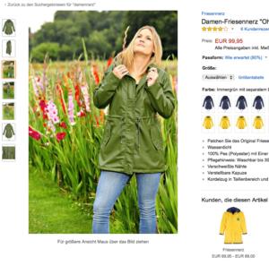 Fotoshooting outdoor Regenbekleidung