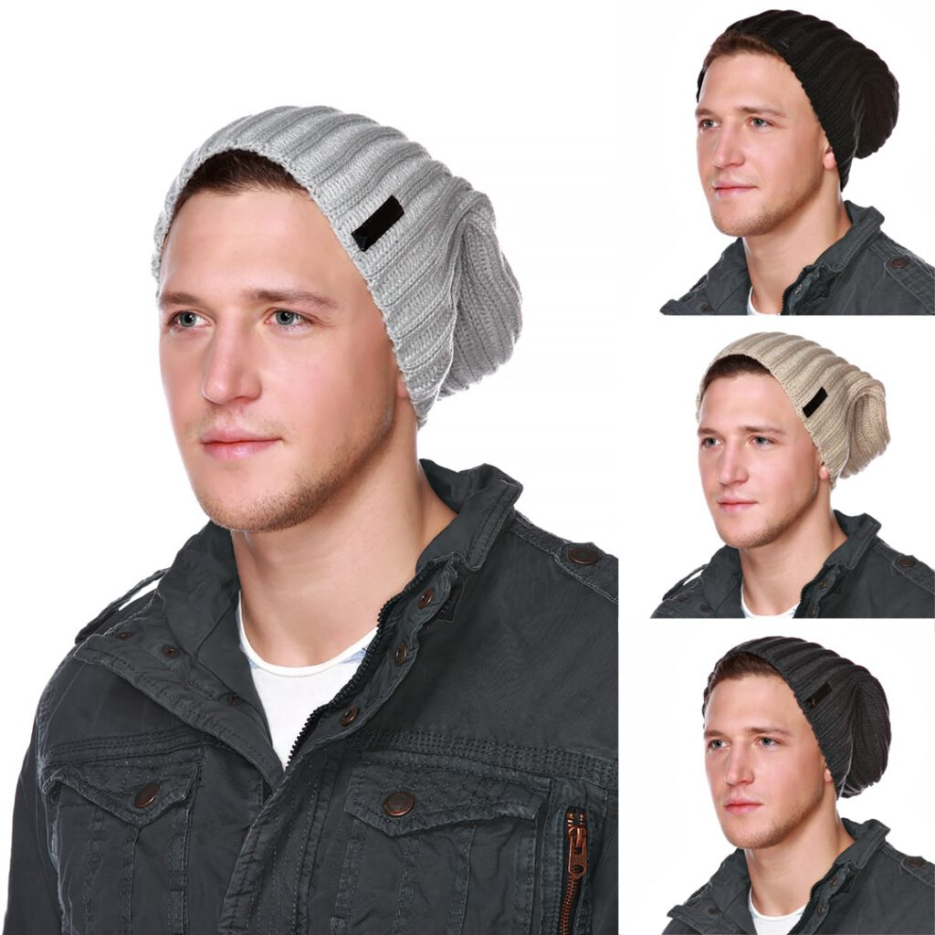 Beany Mütze für Herren