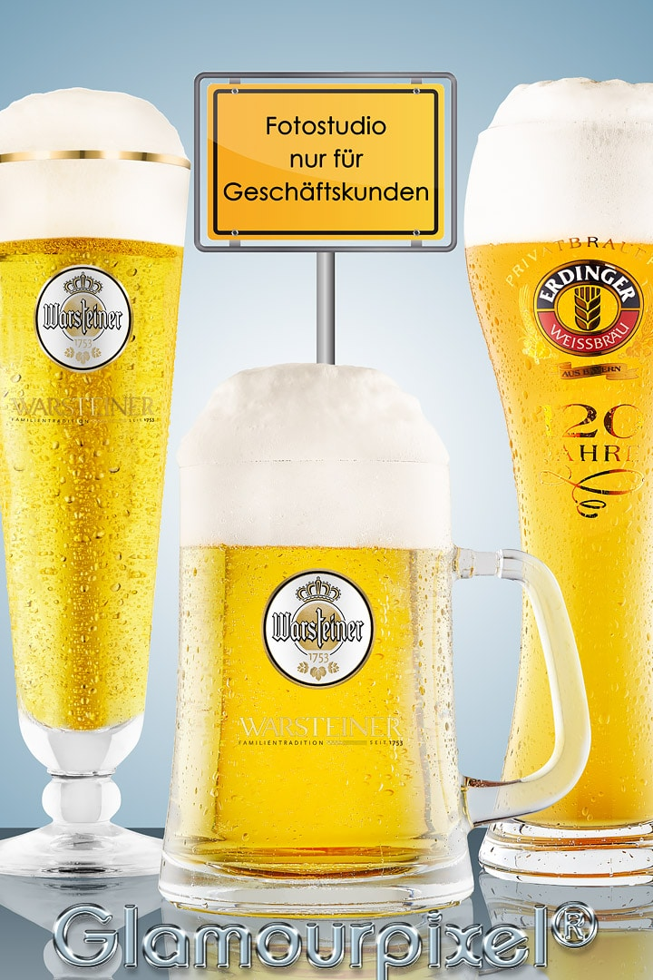 Werbefotografie Bier von Glamourpixel