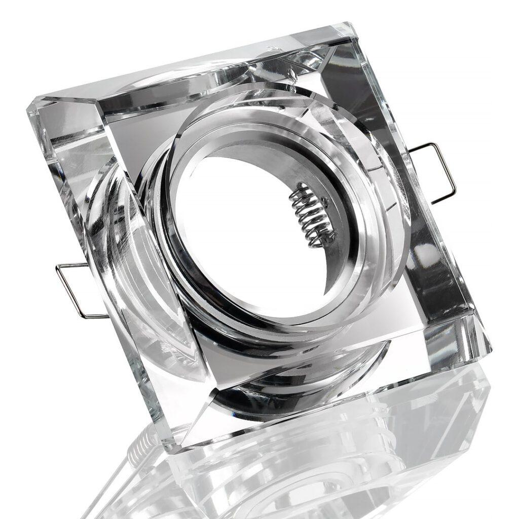 EInbaurahmen für LED Leuchtmittel auf Weiß