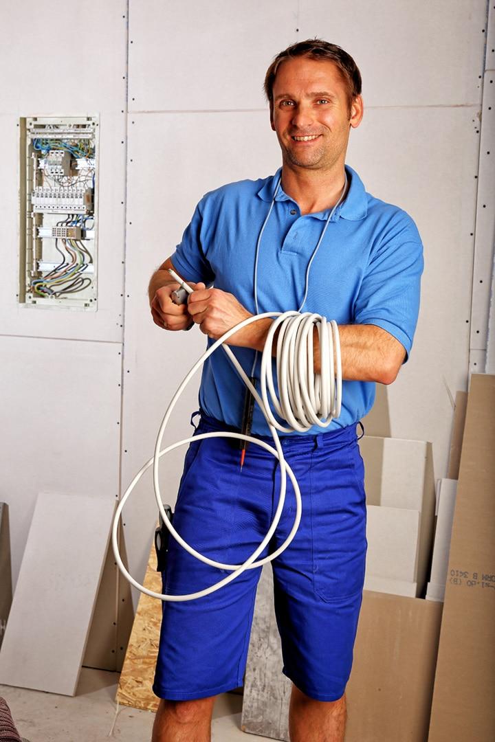Arbeiterkleidung Elektriker Vertriebsfoto