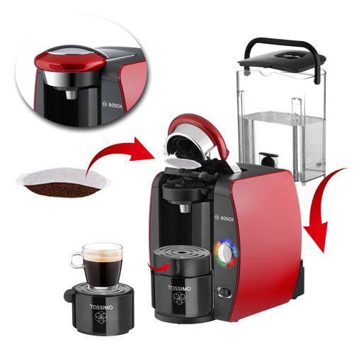 Kaffeemaschinenfoto Bosch