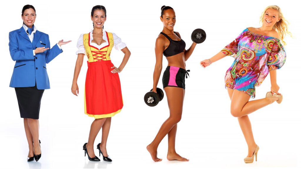Damenmode Fotografie für Onlineshop Amazon