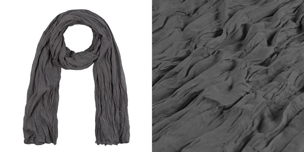 Schal für Onlineshop fotografiert