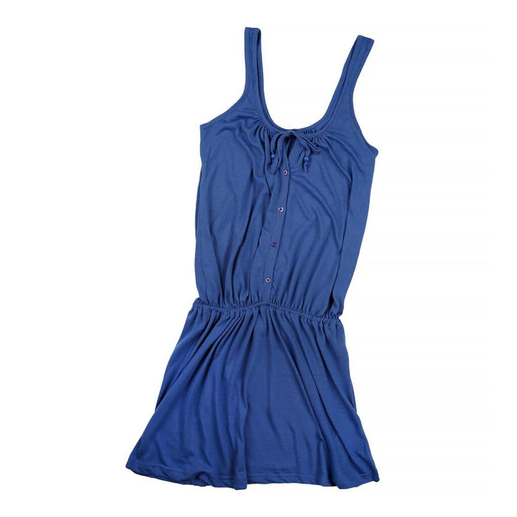 Gelegtes Damen Oberteil in bleu