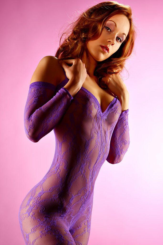 Fashion Unterwäschefotografie Body Stocking