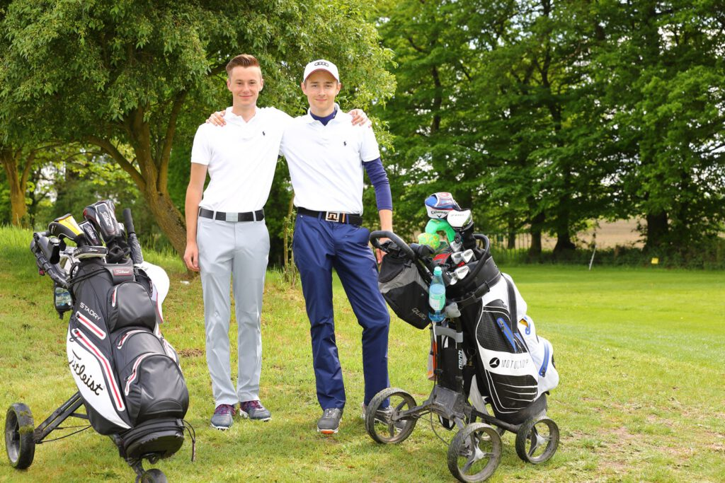 Foto von Golfer Team