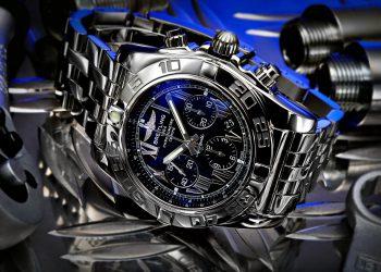 Uhrenfotografie Chronograph Herrenuhr Breitling B01